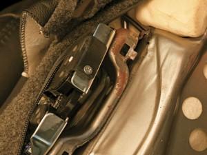 Carro da Honda com ferrugem de fábrica