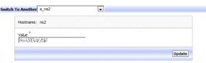 Editando DNS Template