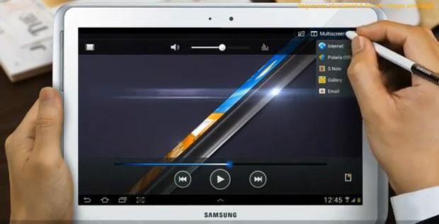 Novo Galaxy Tab 10.1 com caneta Stylus