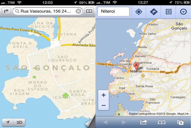Piada App Mapas IOS 6